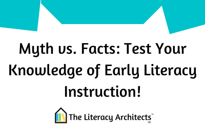 Myth vs. Facts: Test Your Knowledge of Early Literacy Instruction!
